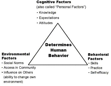 Motivational Monday – You, Your Behavior & Environment..Are You Down with SCT?