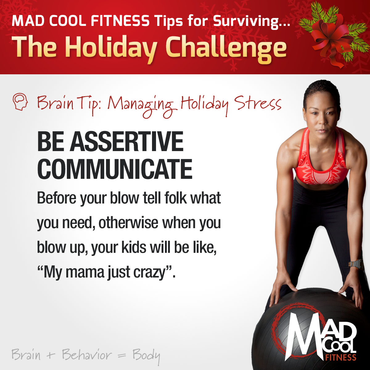 Motivational Monday – Ho, Ho, Ho Hell! Got Holiday Stress?